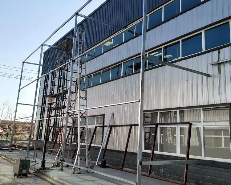 青岛海洋化工有限公司钢结构工程